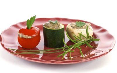 Les légumes farcis pour une personne