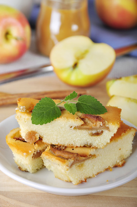Cheese-cake aux pommes