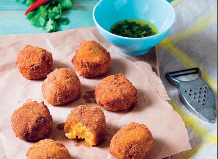 Croquettes de patates douces