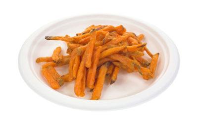 Frites légères au paprika
