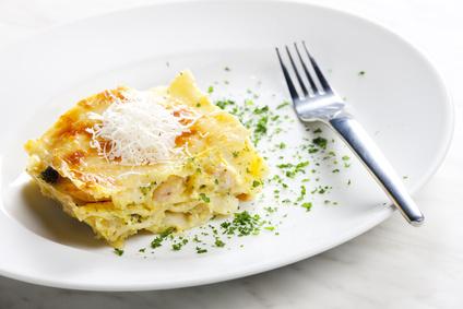 Lasagne au poulet et brocolis